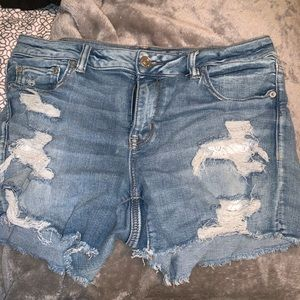 American Eagle shorts and jeans